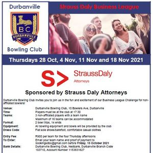 Strauss Daly Bowls Business League