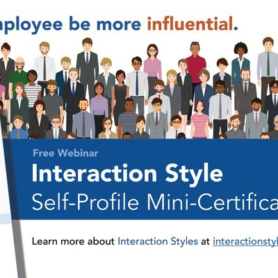 Interaction Style Self-Profile Mini-Certification Webinar