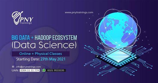 Big Data + Hadoop Ecosystem (Data Science), 27 May | Event in Lahore | AllEvents.in