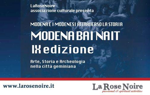 MODENA BAI NAIT 2021 - Modena e i modenesi attraverso la storia, 26 May | Event in Modena | AllEvents.in