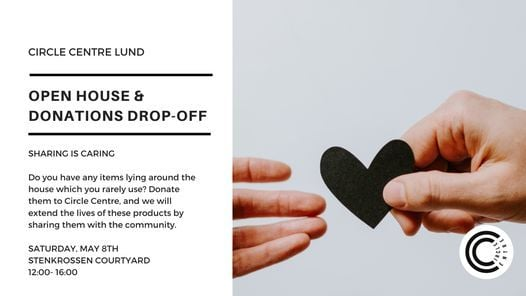 Circle Centre Open-House and Donations Drop-off, 8 May | Event in Lund | AllEvents.in