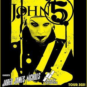 John 5 w Jared James Nichols & Black Satelitte at Growlers