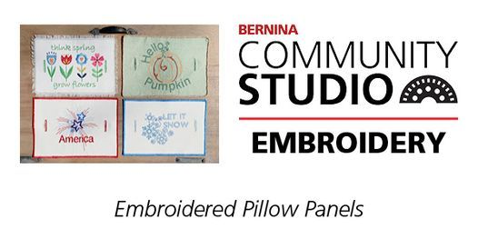 Bernina Community Sewing & Embroidery Club, 21 August | Event in Carmel | AllEvents.in