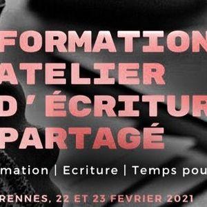 Formation Atelier dcriture partag - Rennes