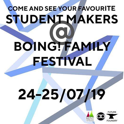 Student Makers at Boing International Family Festival.