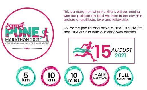Apla Pune Marathon 2021, 15 August   Event in Pune   AllEvents.in