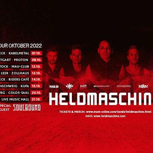 Heldmaschine New Date LIVE in Trier with Guest Vlad In Tears