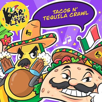 Tacos N Tequila Crawl  Norfolk VA - Bar Crawl Live