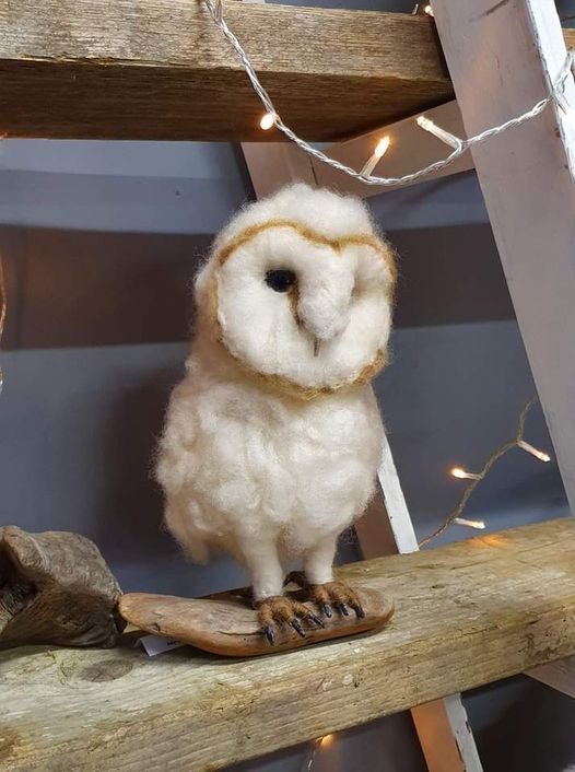 Socially Distanced Needle Felted Baby Barn Owl, 24 April | Event in Wisbech | AllEvents.in