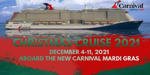 Christmas Cruise Packages 2021 Mardi Gras Christmas Cruise 2021 Cruise Ship Terminal Cape Canaveral Fl December 4 To December 11 Allevents In