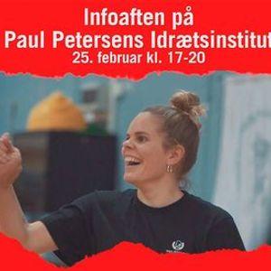 LIVE infoaften p Paul Petersens Idrtsinstitut