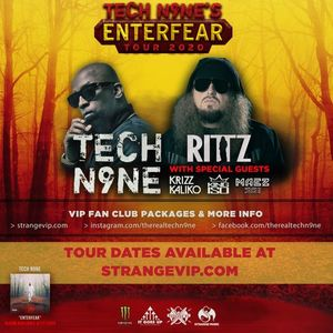 Cleveland OH - Tech N9nes Enterfear Tour 2020