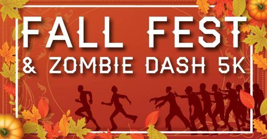 Fall Fest & Zombie Dash 5K | Event in Carson | AllEvents.in