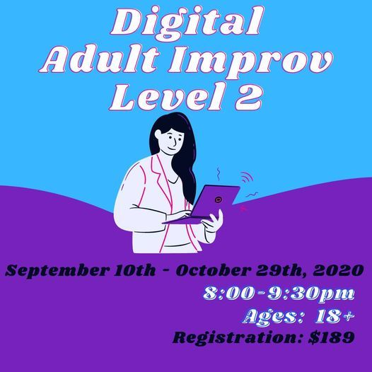 Digital Adult Improv Level 2 | Event in Woodstock | AllEvents.in