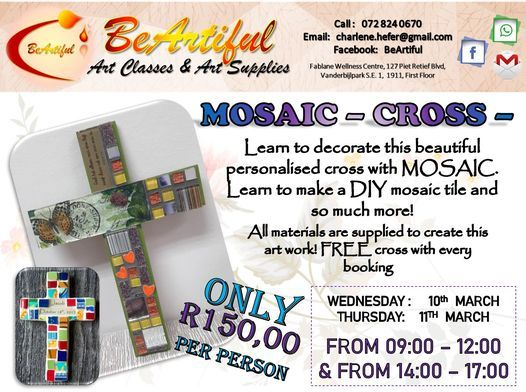 MOSAIC CROSS - R150, 3 March | Event in Sasolburg | AllEvents.in