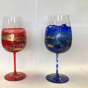 Wine Tasting & Glass Painting