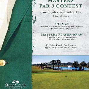 Masters Par 3 Contest