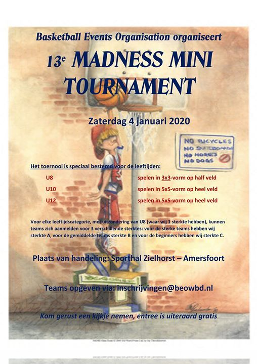 Madness MINI Tournament 2020