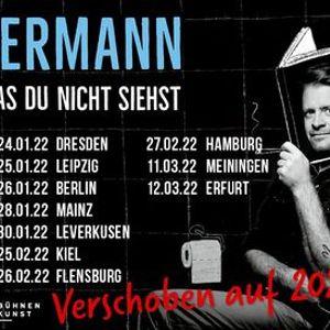 Max Giermann - Ich bin was was Du nicht siehst  Leipzig  Verlegt vom 24.03.2021