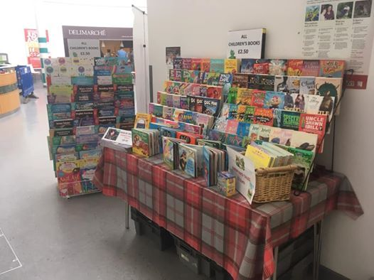 Chloes Hospital Book Stall - PCH at Peterborough City