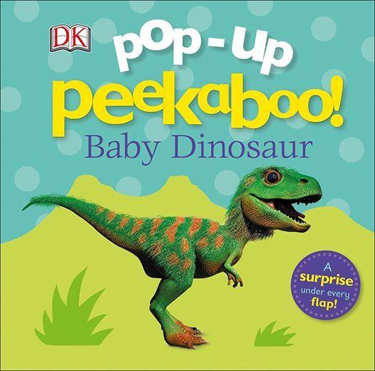 Baby Me Storytime Featuring Pop Up Peekaboo Baby Dinosaur