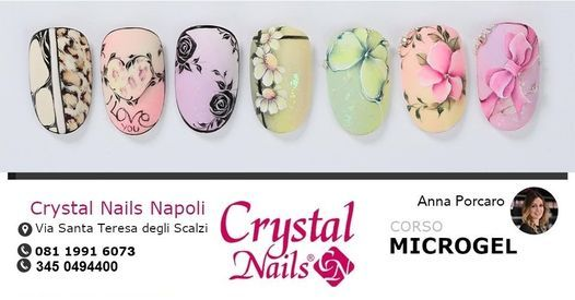 CORSO MICROGEL CRYSTAL NAILS, 24 May | Event in Napoli | AllEvents.in