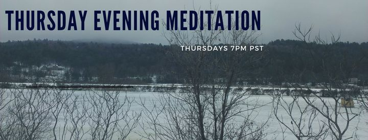 Thursday Evening Meditation, 29 January | Online Event | AllEvents.in