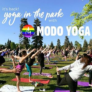 Yoga in the Park  Wednesday June 17th at 530pm Hillcrest Park