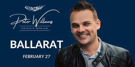 Ballarat - Peter Williams Medium Searching Spirit Tour