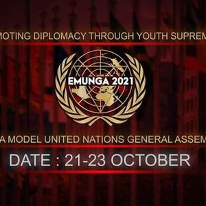 Eventrra Model United Nations General Assembly 2021