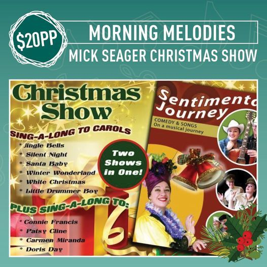 Christmas Morning Melodies at the Leighoak, 15 December | Event in South Yarra | AllEvents.in