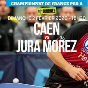 Caen VS Jura Morez