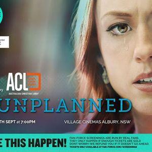 Unplanned - Village Cinemas Albury NSW