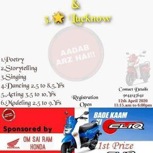 AADAB ARZ HAI TALENT HUNT 22.0 3STAR LUCKNOW