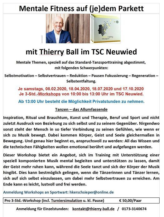 Mentale Fitness mit Thierry Ball
