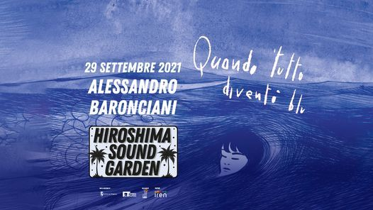 ALESSANDRO BARONCIANI / Hiroshima Sound Garden, 29 September | Event in Turin | AllEvents.in