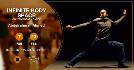 "Infinite Body Space (Contemporary Dance) ""Intermediate"" Course With Abdelrahman Ahmed, 7 February"
