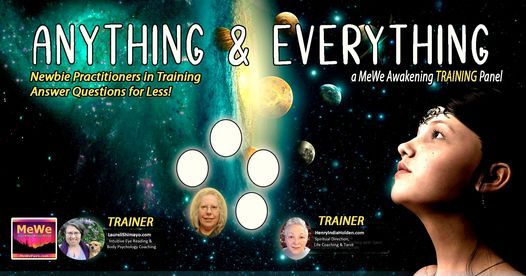 Anything & Everything, a Free Online MeWe Training Panel   Online Event   AllEvents.in