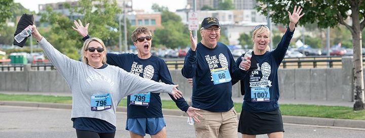 The Blue Shoe Run for Prostate Cancer, 18 September   Event in Denver   AllEvents.in