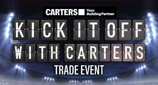 Kick It Off With Carters - Petone Trade Event
