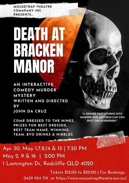 Death at Bracken Manor | Event in Scarborough | AllEvents.in