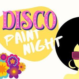 Disco Paint Night