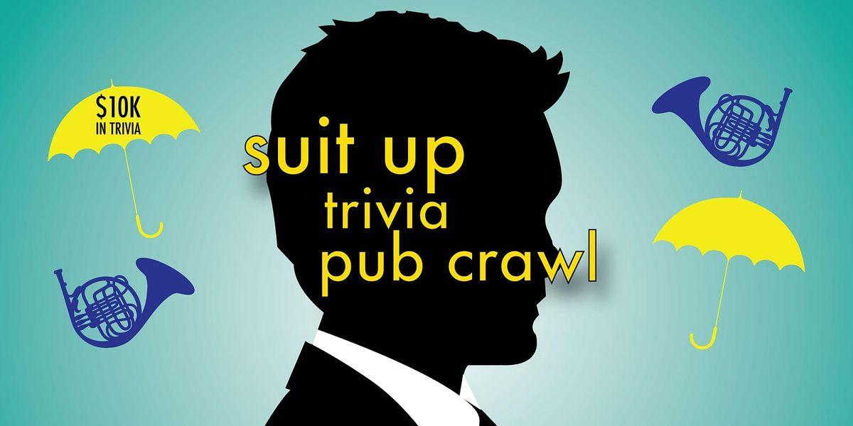 Memphis - Suit Up Trivia Pub Crawl - $10,000+ IN PRIZES!, 5 June | Event in Memphis | AllEvents.in