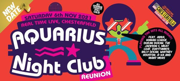 The 70s & 80s Reunion - Aquarius special, 2 April | Event in Chesterfield | AllEvents.in