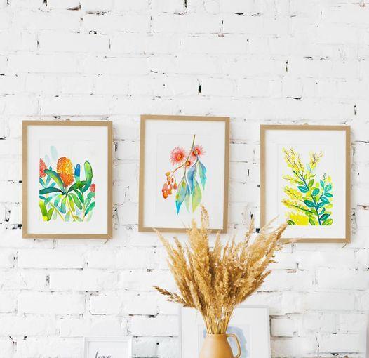 Australian Native Flora Watercolour Workshop
