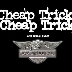 CHEAP TRICK w special guest 38 Special (Shellabration 2021)