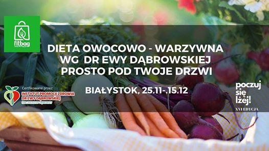 Post wg Dr Ewy Dbrowskiej - 25.11-15.12 z dostaw do domu