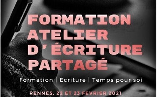Formation Atelier d'écriture partagé - Rennes, 22 February | Event in Rennes | AllEvents.in
