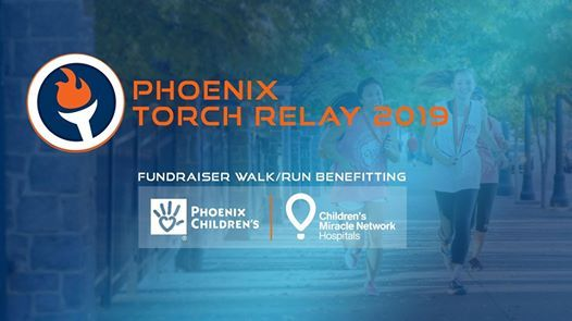 Phoenix Torch Relay for Phoenix Childrens Hospital