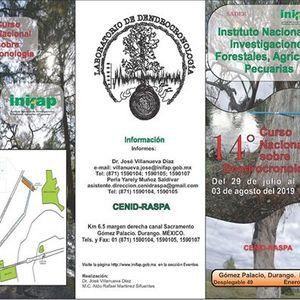 14 Curso Nacional sobre Dendrocronologa